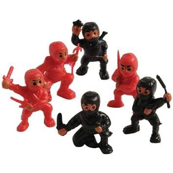 Amazon.com: US Toy 4431X27 Mini Ninja Figures - 12 Per Pack ...