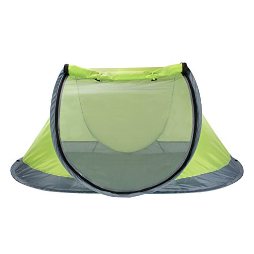 Winterial Outdoor Pop-Up Pet Tent with 2-Inch Foam Pad, Includes Carry Bag