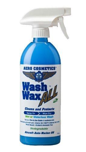Húmedo o botellas de cera de lavado de automóviles 16 oz. aviones calidad Wash Cera