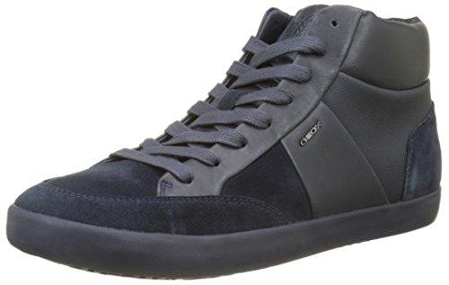 Hommes Geox U D Smart Bleu Haute Sneaker (marine)