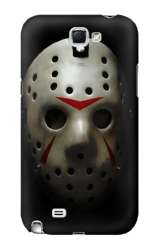 S1098 Scary Hockey Mask Jason Case Cover For Samsung Galaxy Note 2 ()