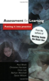 Assessment For Learning: Putting It into Practice