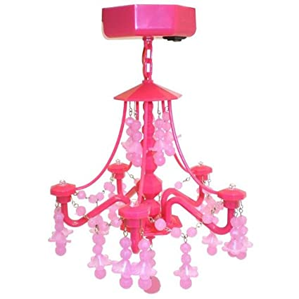 Amazon totally me glam locker chandelier pink home kitchen glam locker chandelier pink aloadofball Image collections