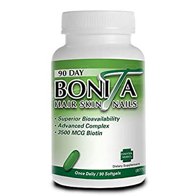 Bonita Hair Skin Nails 90 Softgels