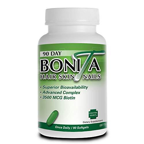 Bonita Hair Skin Nails 90 Softgels from Essential Source