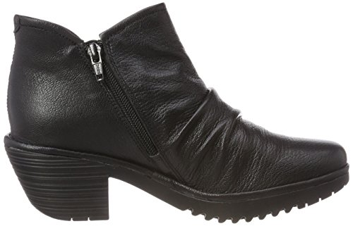 Fly Women's Black 000 Wezo890fly Ankle London Black Boots Br5qFBw