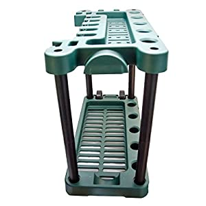 KCT Garden Tool Rack Storage Trolley with Wheels