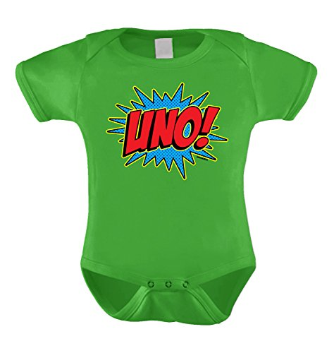 Superhero First Birthday Year Bodysuit