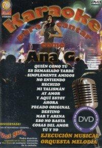 Karaoke Para Cantar Usa Dvd Amazon Es Ana Gabriel Cine Y Series Tv
