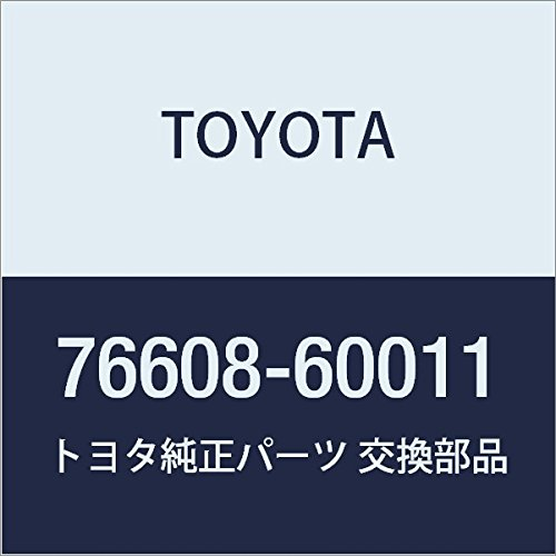 TOYOTA Genuine 76608-60011 Mud Guard Sub Assembly