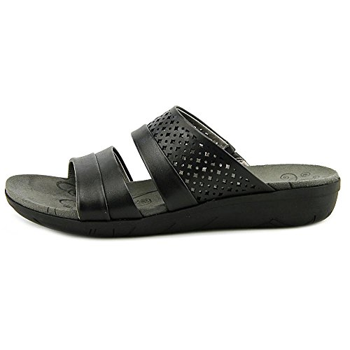 Bare Traps Womens Jimina Open Toe Casual Slide Sandals Black xbChhf