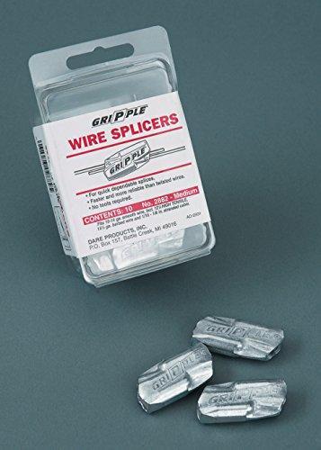 Dare PRODUCTS 2882/SM005 547035 Gripple Wire Splicers (20 Pack), Medium (Dare Wire)