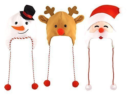 1 x Christmas Hat for Adults - ONE HAT IS SENT AT RANDOM Henbrandt