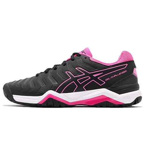 ASICS Women's Gel-Challenger 11, Black/Black/HOT Pink (6 B(M) US, Black/Black/HOT Pink) (Asics Challenger Gel)