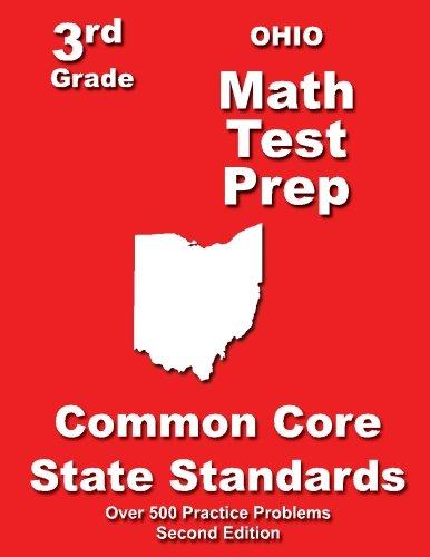 Ohio 3rd Grade Math Test Prep: Common Core State Standards