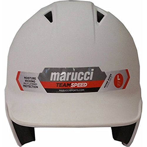 Teamspeed Batting Helmet White - Marucci by Marucci