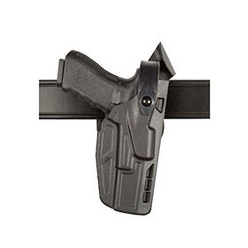 Safariland 7360 7TS ALS/SLS Mid-Ride III Retention Glock 17/22 Duty Holster with ITI Light, Black, Right Hand by Safariland