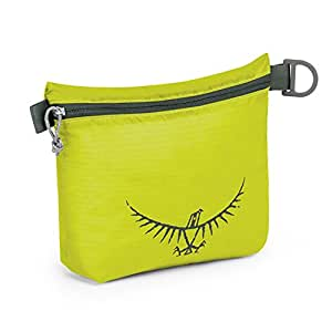 Osprey Packs UL Zipper Sack, Electric Lime, Small