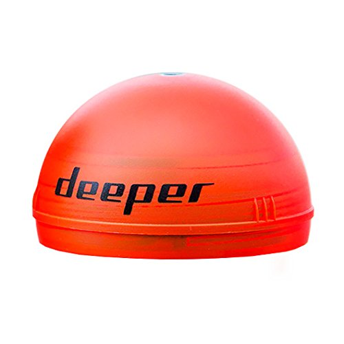 Deeper Night Fishing Cover (orange) – Compatible with Deeper Smart (Fishfinder Accessories)