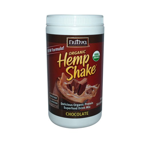 Nutiva Hemp Shake Og2 Chocolate 16 Fz by Nutiva