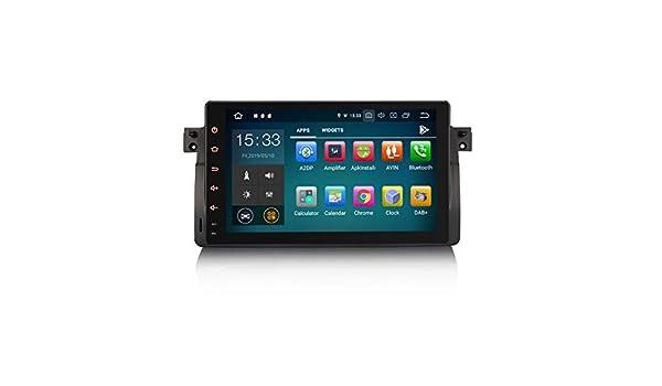 Erisin Android 9.0 Estéreo para coche para BMW Serie 3 E46 318 M3 ...