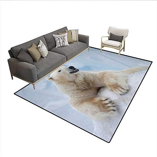 polar bear claw slippers - 9