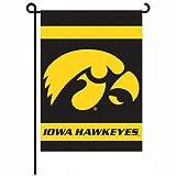 Iowa Hawkeyes 2-Sided Garden Flag For Sale