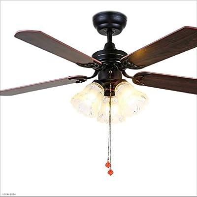 Ventiladores para el Techo con Lámpara Luz de ventilador de techo ...