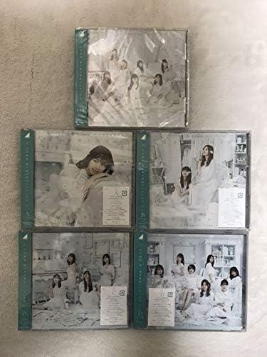 乃木坂46 帰り道は遠回りしたくなる 通常盤 初回限定盤 CD+Blu-ray type ABCD 5枚セットコンプ 西野七瀬 白石麻衣 齋藤飛鳥