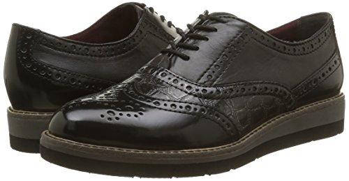 Women's Tamaris blk graph up comb 24301 Brogue Lace 027 Black Shoes ZgdwgOq