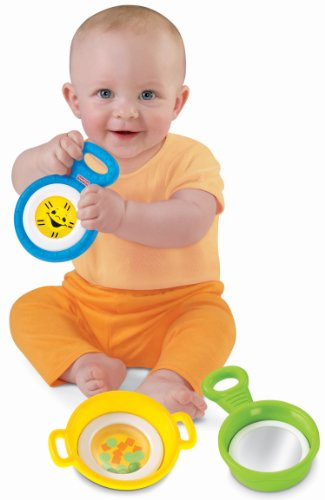 Fisher-Price Brilliant Basics Stack & Nest Pots & Pans