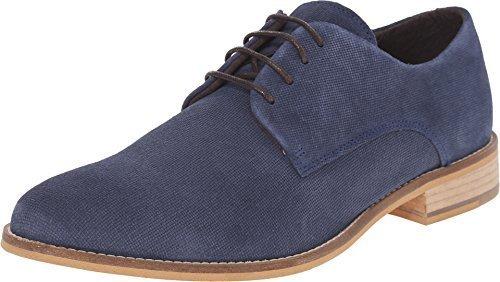 Dune London Men's Bambino Navy Suede Oxford 40 (US Men's 7) (Dune Shoes)