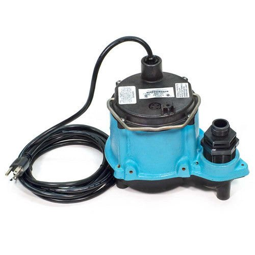 Little Giant 506271 6-CIM-R 1/3HP 45 GPM Manual Submersible Sump Pump by Little Giant