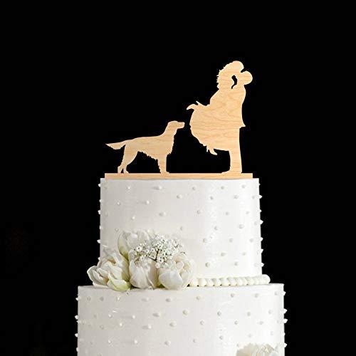 English setter,english setter cake topper,english setter art,irish setter,wedding cake topper dog,dog cake topper,wedding cake topper,657