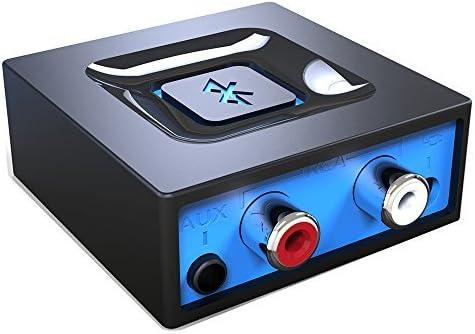 Adaptador de audio de Bluetooth para el sistema de sonido de transmitir la música, Adaptador de audio inalámbrico de Esinkin funciona con los teléfonos inteligentes y tabletas, Receptor Bluetooth para