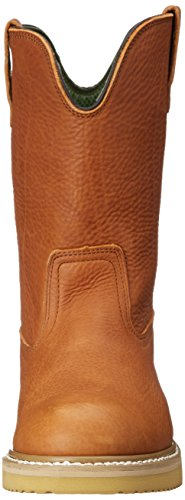 Georgia Boot Men's 12'' Wedge Wellington Work Boot,Barracuda Gold,8.5 W by Georgia (Image #4)