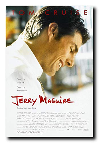 - Mile High Media Jerry Maguire Movie Poster 24x36 Inch Wall Art Portrait Print - Tom Cruise