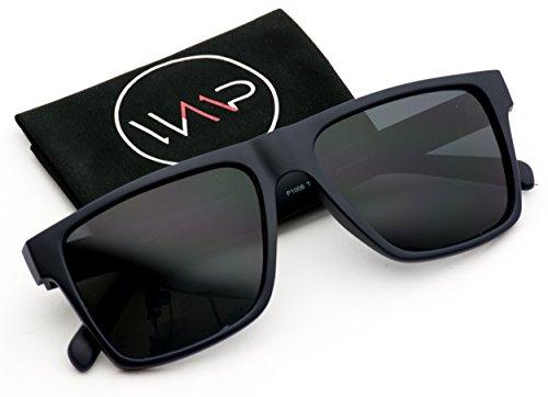 WearMe Pro - Polarized Flat Top Square Men - Sunray Sunglasses