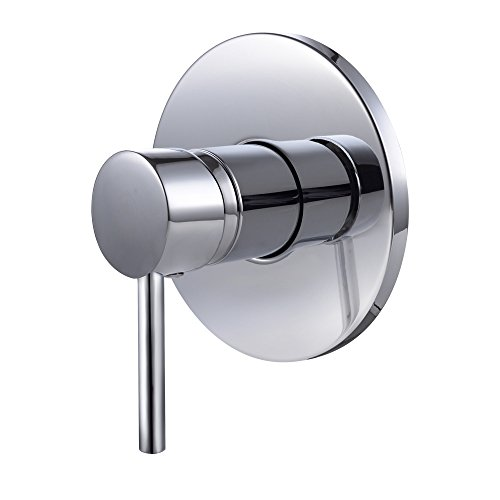 KES L6700 Bathroom Single Handle Mixing Valve Body and Trim Round, Polished Chrome (Bathroom Valve compare prices)