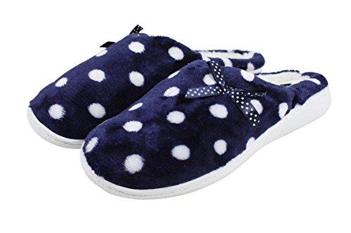 ZYNORIO - Zapatillas de estar por casa de Material Sintético para mujer Azul