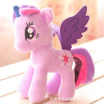 jxxcsmaa Peluche Polaroid Doll Rainbow Pony Party Gift para Niños ...