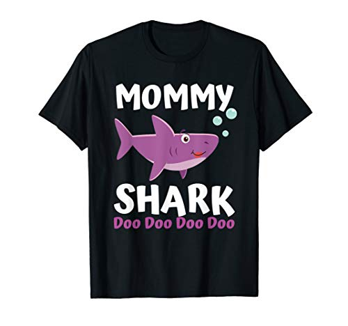 (Mommy Shark Doo Doo Shirt - Matching Family Shark Shirts)