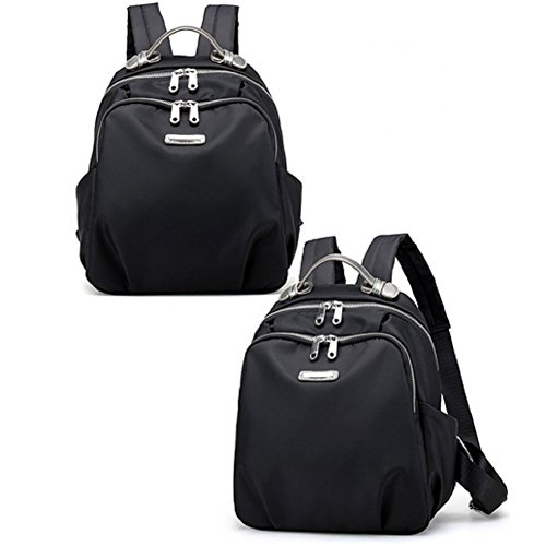 Ladies shoulder bags,sacchetto del panno di oxford,cartella di viaggio-nero piccolo