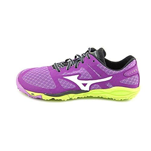 Mizuno Women's Wave Evo Ferus Running Shoe,Purple,7.5 B US