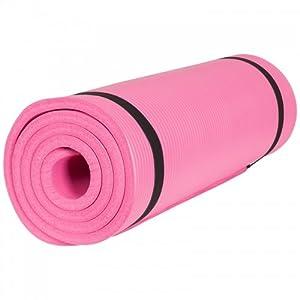 Gorilla Sports Yogamatte in verschiedenen Farben und Größen, Fuchsia, 190 x...