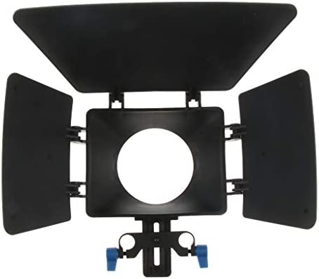 P Prettyia Swing-Away Matte Box Sunshade DSLR Video Rig With 15m