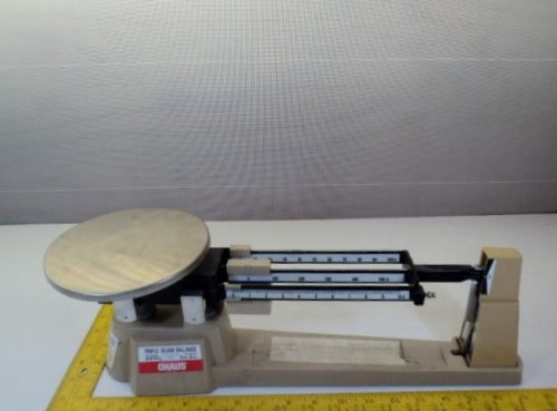 2610 Triple Beam - OHAUS Triple Beam Balance 700 800 Series Scale 2610g 5lb 2oz T15754
