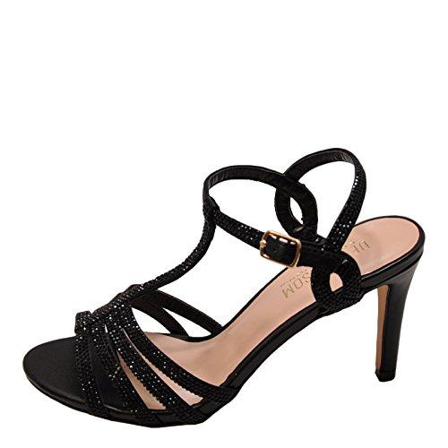 Rita Heels Black Blossom 3X Embellished Formal Rita Womens Blossom 3X Womens Embellished 76q16SxA