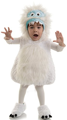 Monster Costumes - Underwraps Kid's Underwraps Baby's Snow Monster Costume, X-Large Childrens Costume, white, X-Large