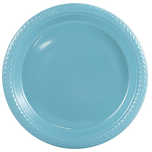 JAM Paper Round Plastic Party Plates - Medium - 9